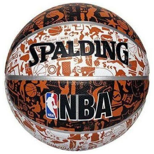 Tudo sobre 'Bola de Basquete Spalding NBA Grafitti'