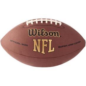 Bola de Futebol Americano Nfl Super Grip Tradicional Wilson