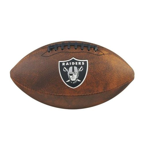 Bola de Futebol Americano Wilson Nfl Raiders - Marrom