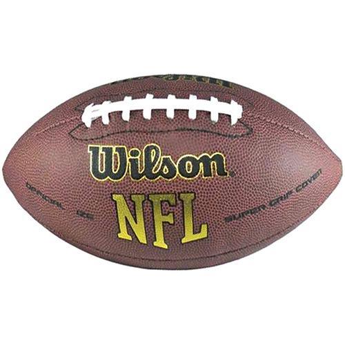 Bola de Futebol Americano Wilson - Super Grip Oficial
