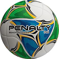 Bola de Futebol Beach Soccer Penalty Pro Termotec - Branca/Azul/Verde