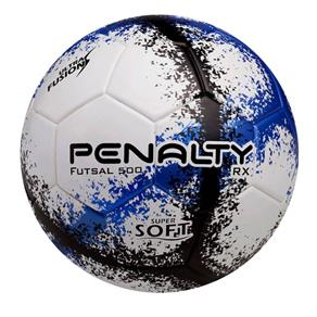 Bola de Futsal - RX 500 R3 VIII - Branco, Azul e Preto - Penalty