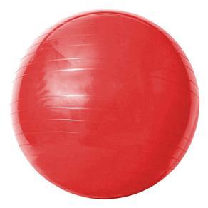 Bola de Ginástica com Bomba de Ar Acte Sports Gym Ball 55cm - Vermelha