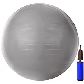 Bola de Pilates ACTE T9-55 GYM Ball PVC 55cm Cinza
