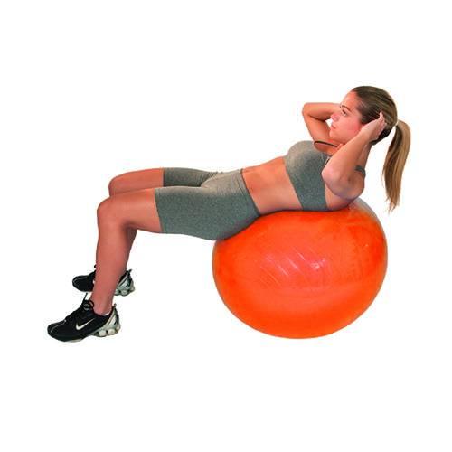 Bola de Pilates Gym Ball Pvc 45cm Laranja – Acte T9-45
