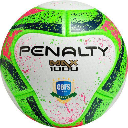 Tudo sobre 'Bola Futsal Penalty Max 1000 Pró'