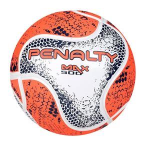 Bola Futsal Penalty Max 500 Term VIII Branco e Laranja