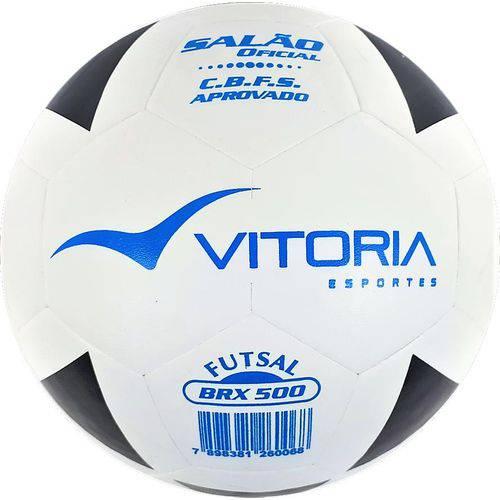 Tudo sobre 'Bola Futsal Vitória Oficial Brx 500'