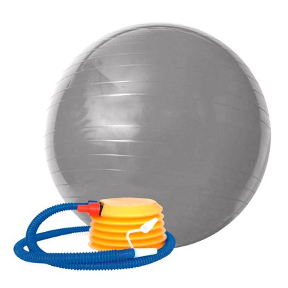 Tudo sobre 'Bola Gym Ball ACTE 75 Cm Cinza'