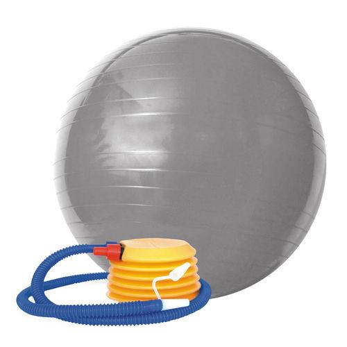 Bola Gym Ball ACTE 75 Cm Cinza