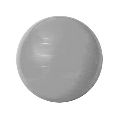 Bola Gym Ball Acte Sports Cinza de 55Cm com Bomba de Ar T9