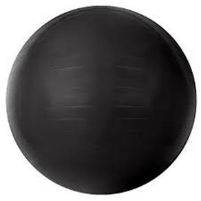 Bola Gym Ball Acte Sports Preta de 85Cm com Bomba de Ar T9-85