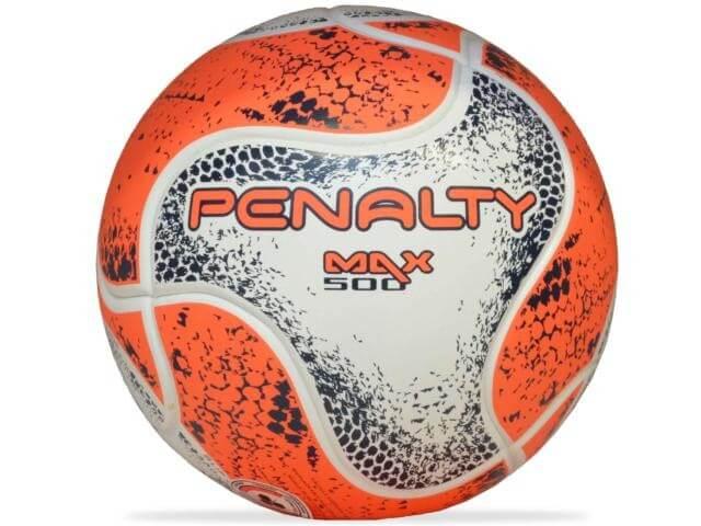 Bola Penalty Futsal Max 500 Term Viii Branco Coral
