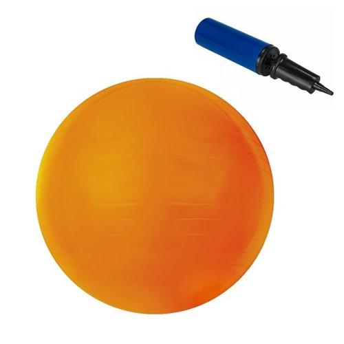 Bola Pilates 45 Cm com Bomba para Encher