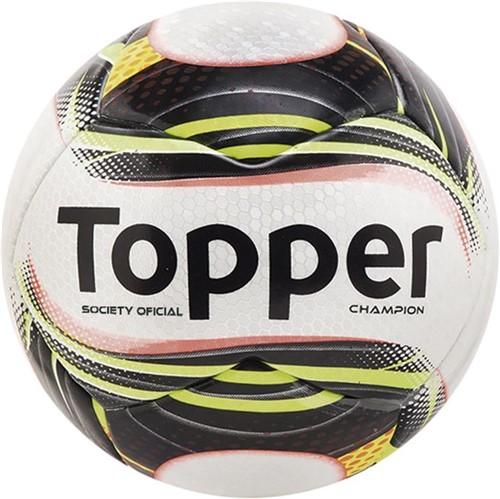 Tudo sobre 'Bola Topper Champion Society Branco/Preto - U'