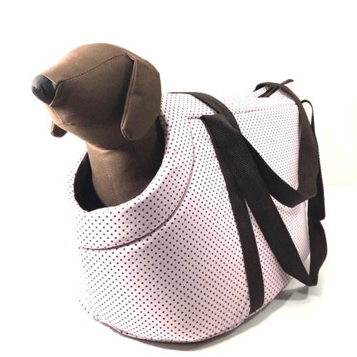 Bolsa de Transporte Rosa Bebê Poá