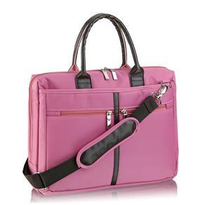 """Bolsa Feminina P/ Notebook 14"""" Rosa BO103 - Multilaser"""