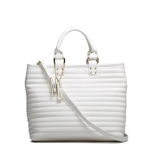 Tudo sobre 'Bolsa Macadamia Mci11044-02E - Cor Branca (Branco)'