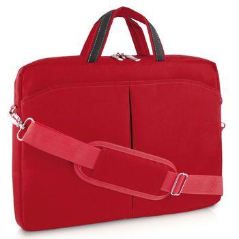 Bolsa Multilaser para Notebook 15 Polegadas Vermelha BO171