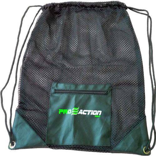 Bolsa para Academia Treino Gym Mesh Proaction G180 Verde