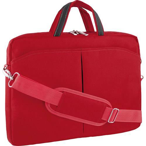 """Bolsa para Notebook Até 15"""" Multilaser Vermelha"""