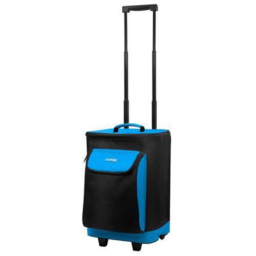 Tudo sobre 'Bolsa Térmica Cooler 25 Litros com Rodas Azul - Soprano'