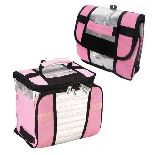Bolsa Térmica Ice Cooler 7,5 Litros Rosa
