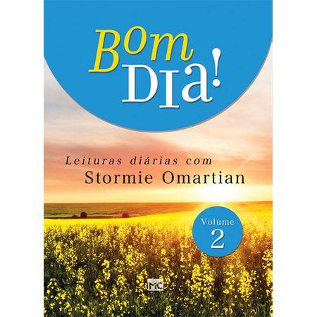 Tudo sobre 'Bom Dia! Leituras Diárias com Stormie Omartian Vol. 2'