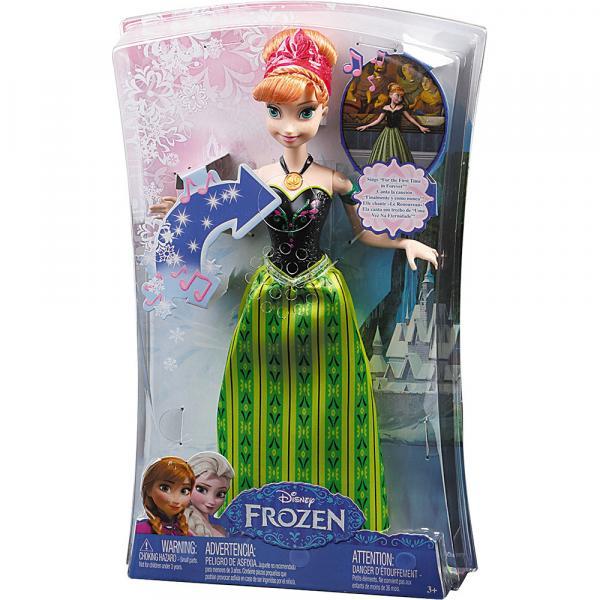 Boneca Anna Frozen Musical CMK70 Mattel