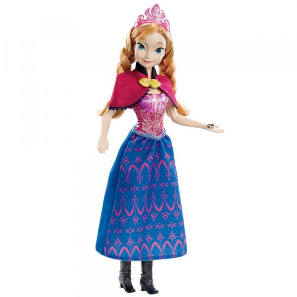 Boneca Anna Princesa Musical - Disney Frozen - Mattel