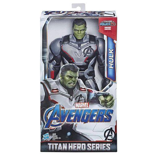 Tudo sobre 'Boneca Avengers Titan Hero Power Deluxe 2.0 - Hulk - Hasbro'