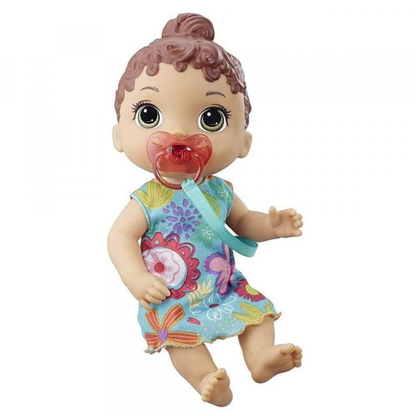 Boneca Baby Alive Bebê Primeiros Sons E3688 Morena Hasbro