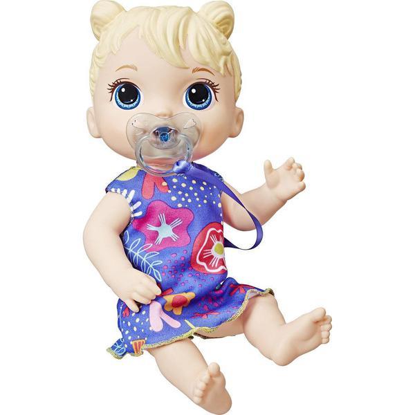 Boneca Baby Alive Bebe Primeiros Sons Loira E3690 - Hasbro