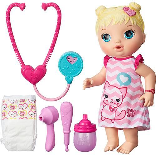 Tudo sobre 'Boneca Baby Alive Cuida de Mim Loira - Hasbro'