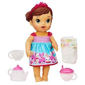 Boneca Baby Alive Hasbro Hora do Chá - Morena