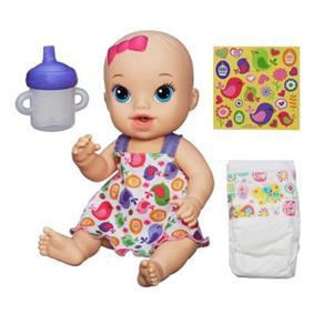 Boneca Baby Alive Hasbro Hora do Xixi - Loira A9291