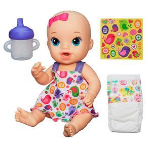 Boneca Baby Alive Hasbro Hora do Xixi - Loira
