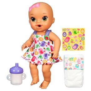 Boneca Baby Alive Hasbro Hora do Xixi – Morena