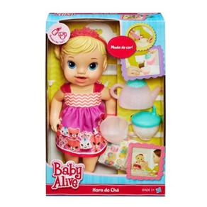 Boneca Baby Alive Hora do Chá Loira - Hasbro A9288