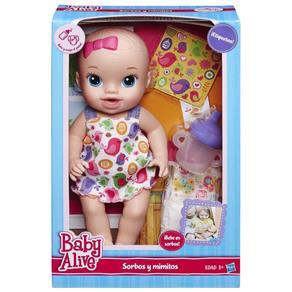 Boneca Baby Alive Hora do Xixi Loira - A9290 - Hasbro
