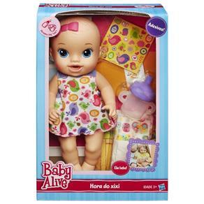 Boneca Baby Alive Hora do Xixi Loira A9290