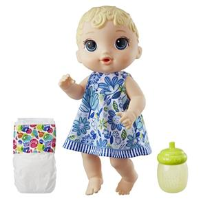 Boneca Baby Alive - Hora do Xixi - Loira - E0385 - Hasbro Baby Alive