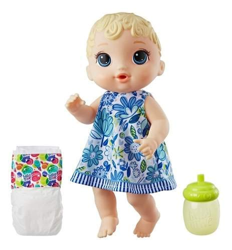 Boneca Baby Alive - Hora do Xixi - Loira - E0385 - Hasbro