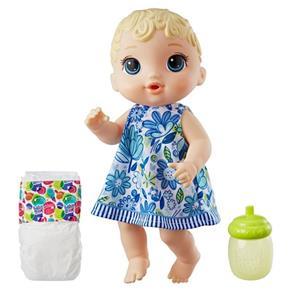 Boneca Baby Alive Hora do Xixi Loira - Hasbro - E0385