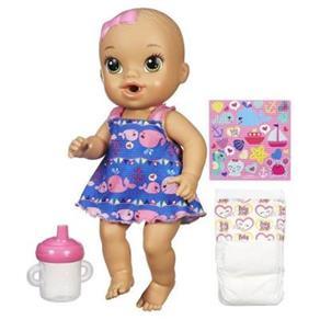 Boneca Baby Alive Hora do Xixi Morena da Hasbro