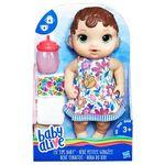 Boneca Baby Alive - Hora do Xixi - Morena - Hasbro E0499