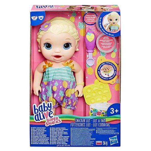 Tudo sobre 'Boneca Baby Alive Lanchinho Divertido Loira - Hasbro'