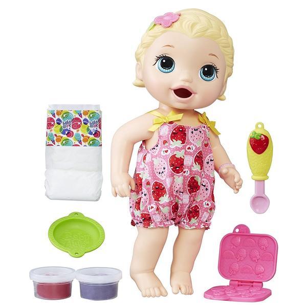 Boneca Baby Alive Lanchinho Divertido Loira - Hasbro
