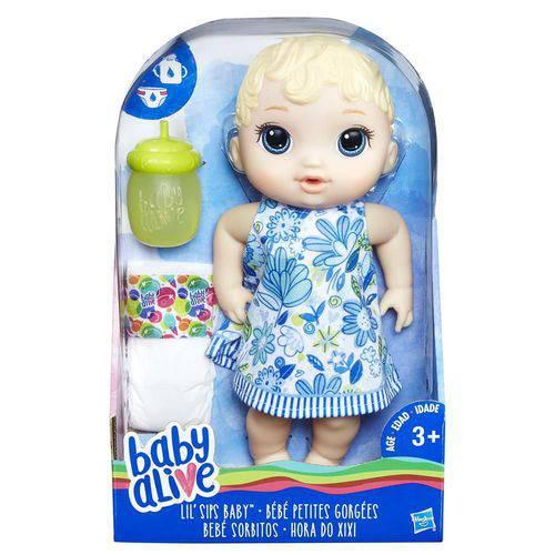 Boneca Baby Alive Loira Hora do Xixi - Hasbro