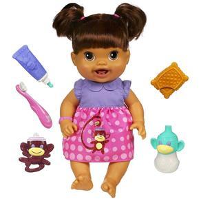 Boneca Baby Alive - Meus Primeiros Dentinhos Morena - 28491 - Hasbro